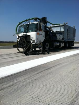 March Air Force Base Rubber Removal